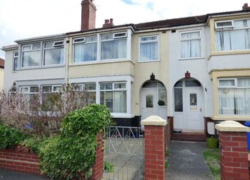 Thumbnail 3 bed terraced house to rent in Merlyn Road, Thornton-Cleveleys