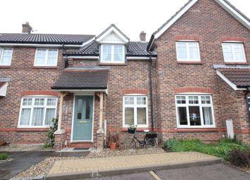 Thumbnail 2 bed terraced house for sale in Wilde Road, Rackheath, Norwich