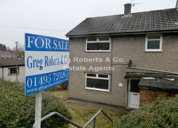 Thumbnail 3 bed semi-detached house for sale in 8 Union Street, Pontlottyn, Caerphilly County.