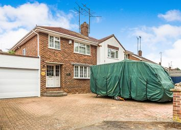 Thumbnail 3 bed semi-detached house for sale in Overdown Road, Tilehurst, Reading, Berkshire