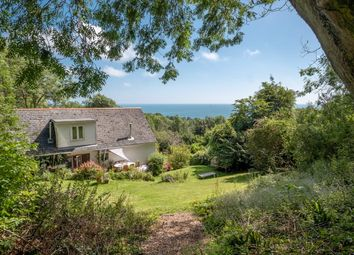 Thumbnail 5 bed detached house for sale in Cowleaze Hill, Luccombe, Shanklin
