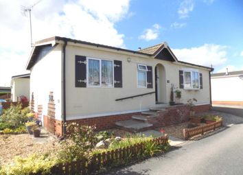 Thumbnail 2 bed mobile/park home for sale in Willow Park, Gladstone Way, Mancot, Flintshire.
