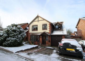 Thumbnail 4 bed detached house for sale in Chaffinch Drive, Biddulph, Staffordshire