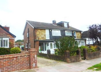 Thumbnail 3 bed semi-detached house to rent in Warmdene Road, Brighton
