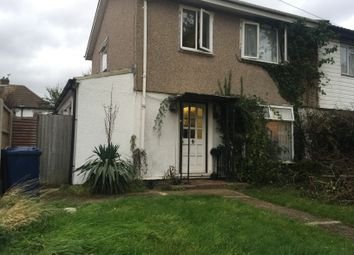 Thumbnail 4 bed semi-detached house for sale in Newnham Close, Northolt