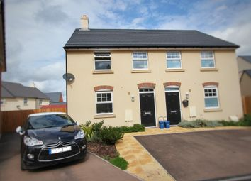 Thumbnail 3 bed semi-detached house for sale in Mid Summer Way, Monmouth