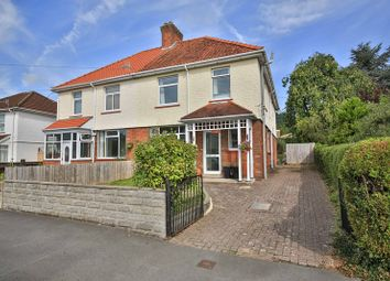 Thumbnail 4 bed semi-detached house for sale in Park Crescent, Abergavenny