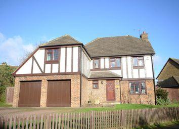 Thumbnail 5 bed detached house to rent in Kerris Way, Earley, Reading