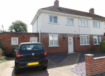 Thumbnail 3 bed semi-detached house for sale in Willow Road, Loughborough, Leicestershire