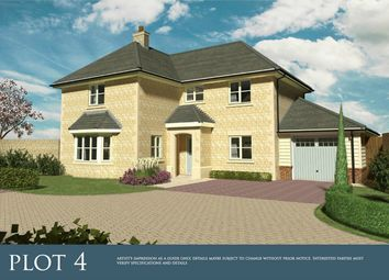 Thumbnail 4 bed detached house for sale in Spalding Road, Deeping St. James, Peterborough