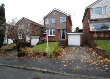 Thumbnail 3 bed detached house for sale in Crowshaw Drive, Lower Healey, Rochdale