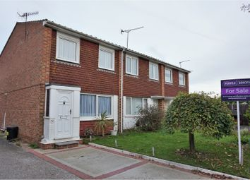 Thumbnail 3 bed end terrace house for sale in Colebrook Road, Littlehampton