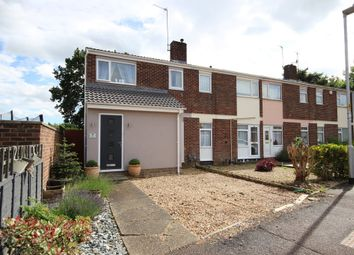 Thumbnail 3 bed end terrace house for sale in The Links, Kempston, Bedford