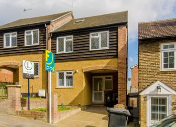 Thumbnail 4 bed semi-detached house to rent in Lower Road, Loughton