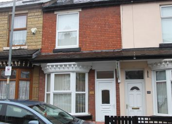 Thumbnail 2 bed terraced house to rent in Victoria Street, Willenhall