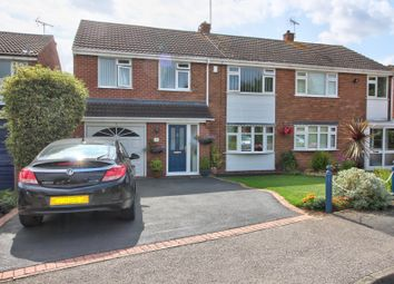 Thumbnail 4 bed semi-detached house for sale in Bodenham Close, Wigston