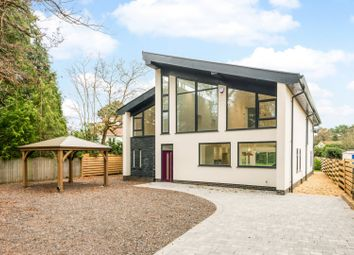 Thumbnail 4 bedroom detached house for sale in Upper Golf Links Road, Broadstone