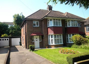 Thumbnail 3 bed semi-detached house to rent in Goldstone Crescent, Hove