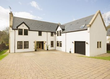 Thumbnail 5 bed detached house for sale in Garden Court, Hollybush, Ayr