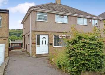 Thumbnail 3 bed semi-detached house to rent in Meadow Crescent, Halifax
