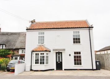 Thumbnail 3 bed detached house for sale in Beach Road, Caister-On-Sea