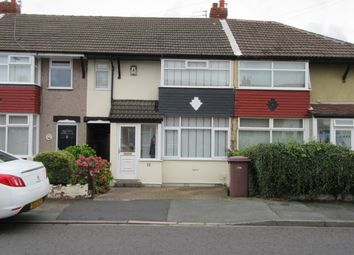 Thumbnail 3 bed terraced house for sale in Chatsworth Road, Rainhill
