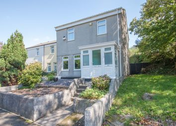 Thumbnail 3 bed end terrace house for sale in Keswick Crescent, Plymouth