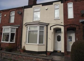 Thumbnail 2 bed terraced house to rent in Old Liverpool Road, Warrington