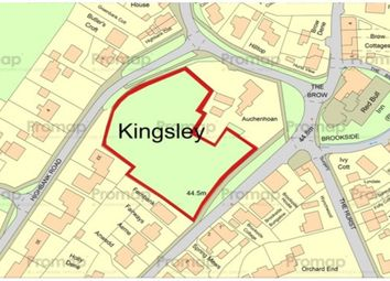 Thumbnail Land for sale in The Brow, Kingsley, Frodsham