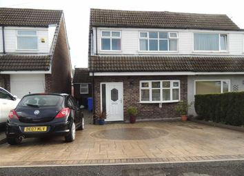 Thumbnail 3 bed semi-detached house for sale in Moorgate Drive, Carrbrook, Stalybridge