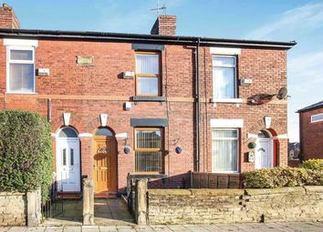 Thumbnail 2 bedroom terraced house to rent in Buxton Road, Great Moor, Stockport