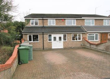Thumbnail 5 bed semi-detached house for sale in Larch Avenue, Bricket Wood, St. Albans