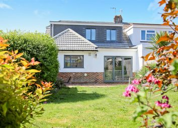 Thumbnail 4 bed semi-detached house for sale in Meadway Crescent, Hove