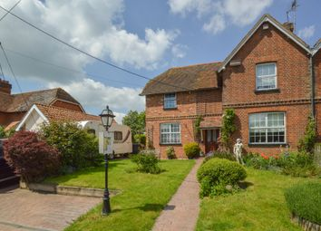 Thumbnail 3 bed semi-detached house for sale in Tilbury Green, Ridgewell, Halstead, Essex