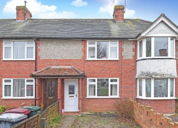 Thumbnail 2 bedroom terraced house for sale in Shirley Avenue, Reading