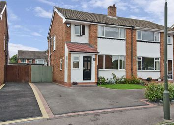 Thumbnail 3 bed semi-detached house for sale in Abnalls Croft, Lichfield