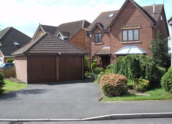 Thumbnail 5 bed detached house for sale in Glean Close, Broughton Astley, Leicester