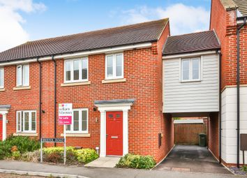 Thumbnail 3 bed detached house for sale in Bristol Road, New Costessey, Norwich