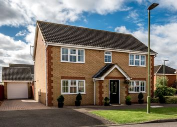Thumbnail 5 bed detached house for sale in Redwing Rise, Royston