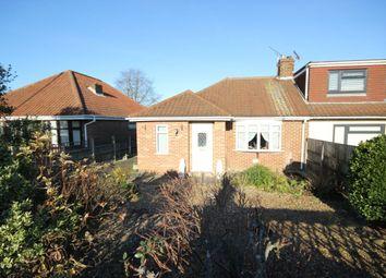 Thumbnail 1 bed bungalow for sale in St. Williams Way, Thorpe St Andrew, Norwich
