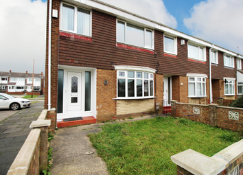 Thumbnail 3 bed terraced house for sale in Truro Way, Jarrow, Tyne And Wear