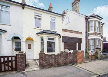 Thumbnail 2 bed terraced house to rent in Glencoe Road, Chatham