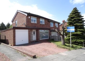 Thumbnail 3 bed semi-detached house for sale in Castlesteads Drive, Belle Vue, Carlisle