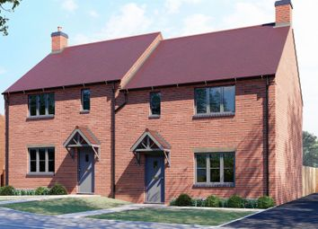 Thumbnail 3 bed semi-detached house for sale in Paddock Way, Great Glen, Leicester