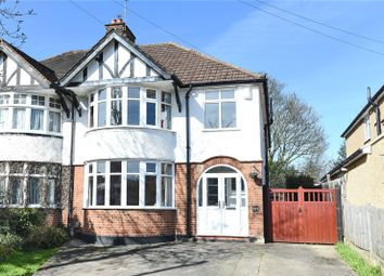 Thumbnail 4 bed semi-detached house for sale in Cassiobury Park Avenue, Watford, Hertfordshire