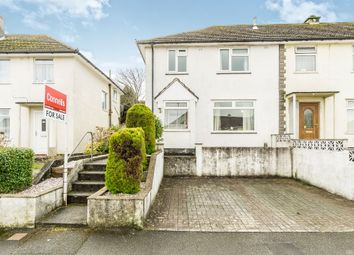 Thumbnail 3 bedroom end terrace house for sale in Lympne Avenue, Plymouth