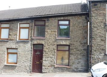 Thumbnail 3 bed property to rent in High Street, Cymmer, Porth