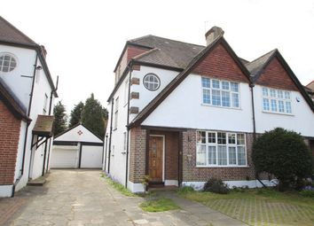 Thumbnail 4 bed semi-detached house for sale in Petts Wood Road, Petts Wood, Orpington, Kent