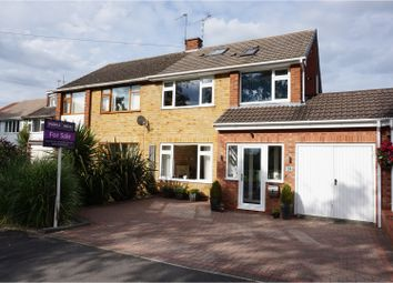 Thumbnail 4 bed semi-detached house for sale in South View Road, Leamington Spa