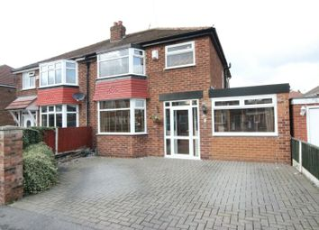 Thumbnail 3 bed semi-detached house for sale in Braemar Drive, Sale